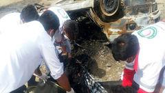 اولین عکس از جسد سوخته در فاجعه ایرانشهر+ تصاویر دلخاش