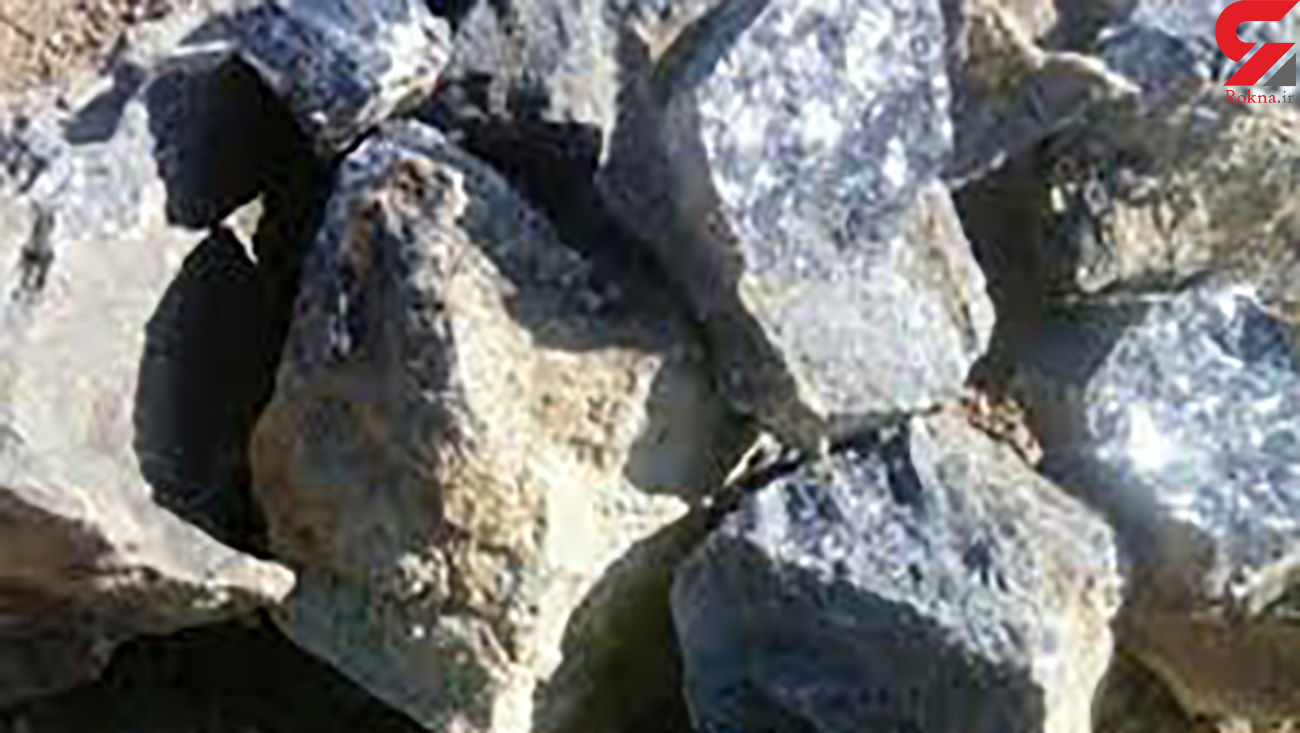 کشف محموله سنگ  قاچاق معدن  در اسفراین