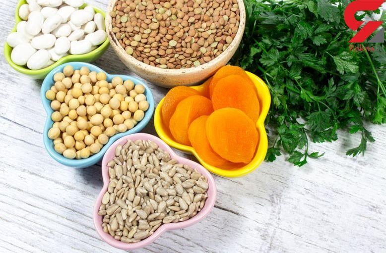 درمان کم خونی با خوراکی های خون ساز