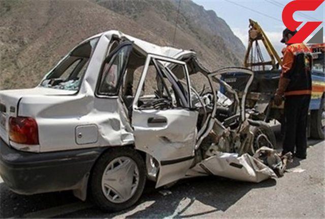 11 مصدوم در یک تصادف  در تبریز