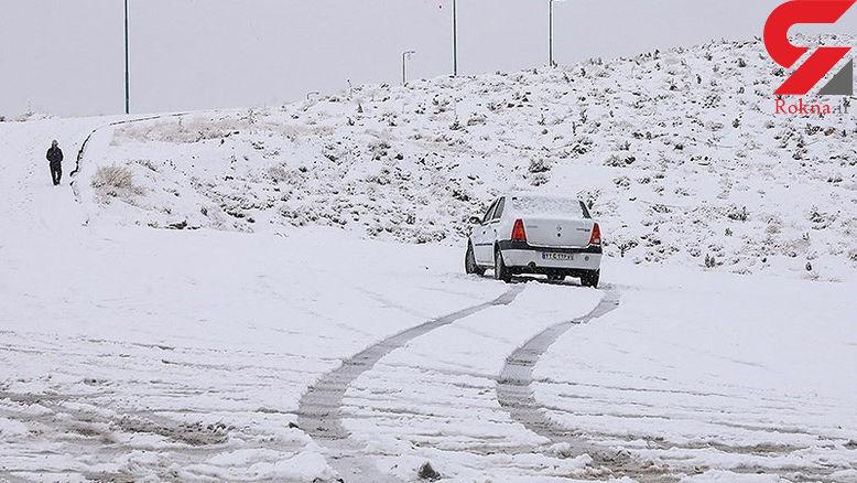 امشب برخی جادهها یخ میبندد