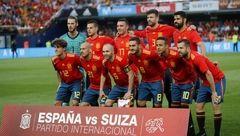 ترکیب اسپانیا مقابل ایران اعلام شد