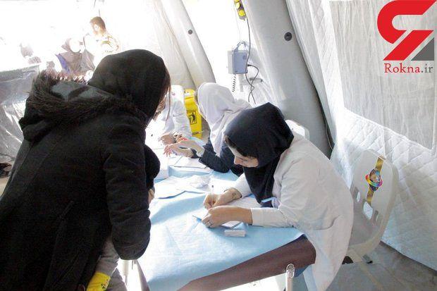ویزیت رایگان ۲۵۰۰ بیمار توسط پزشکان گلستانی در کرمانشاه