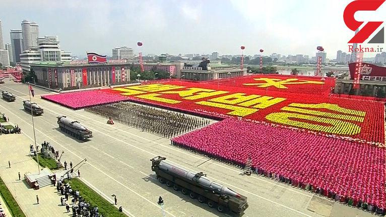 آتش گرفتن تانک در رژه ارتش کره شمالی!+فیلم