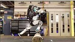 روبات «پارکورکار» به میدان آمد