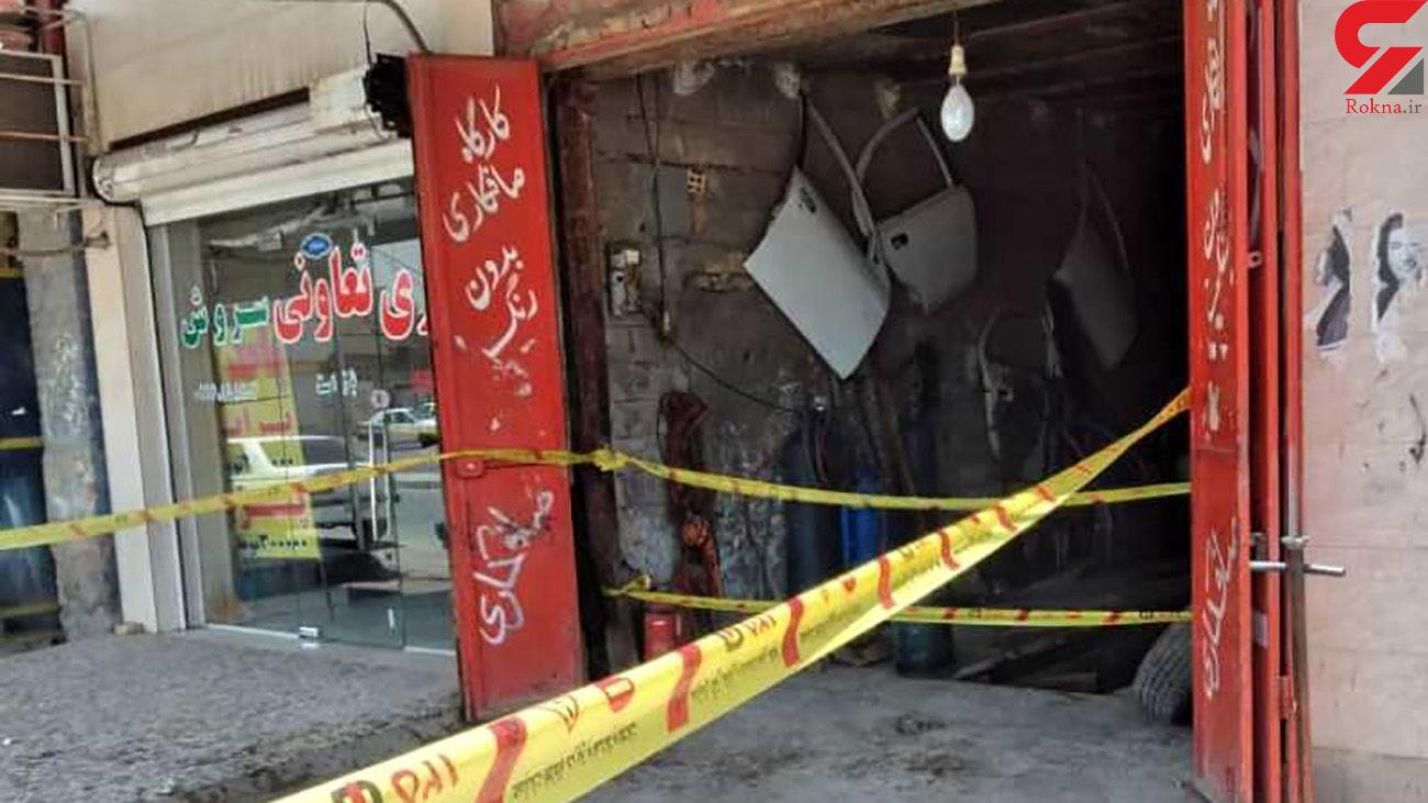 اتفاقی عجیب در پمپ بنزین منطقه کمپلو اهواز / رهگذران شوکه شدند+ عکس