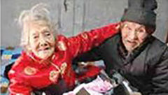 هدیه شگفت آور مرد عاشق به مناسبت 82 سال زندگی مشترک+ عکس