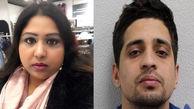 حمله وحشیاه مرد پاکستانی با چاقو به همسر و فرزندش+ عکس