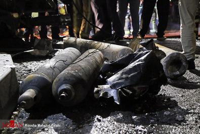 آتشسوزی و انفجار در کلینیک درمانی سینا اطهر