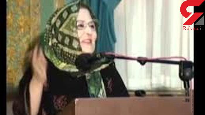 خانم بازیگر ایرانی در گذشت + عکس