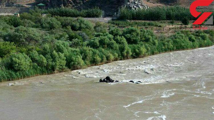 سقوط مرگبار کامیون به رود ارس/ سرنوشت مبهم سرنشینان!
