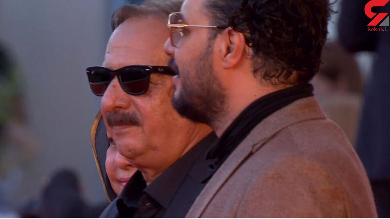 جواد عزتی و مجید مجیدی روی فرش قرمز اختتامیه ونیز + عکس
