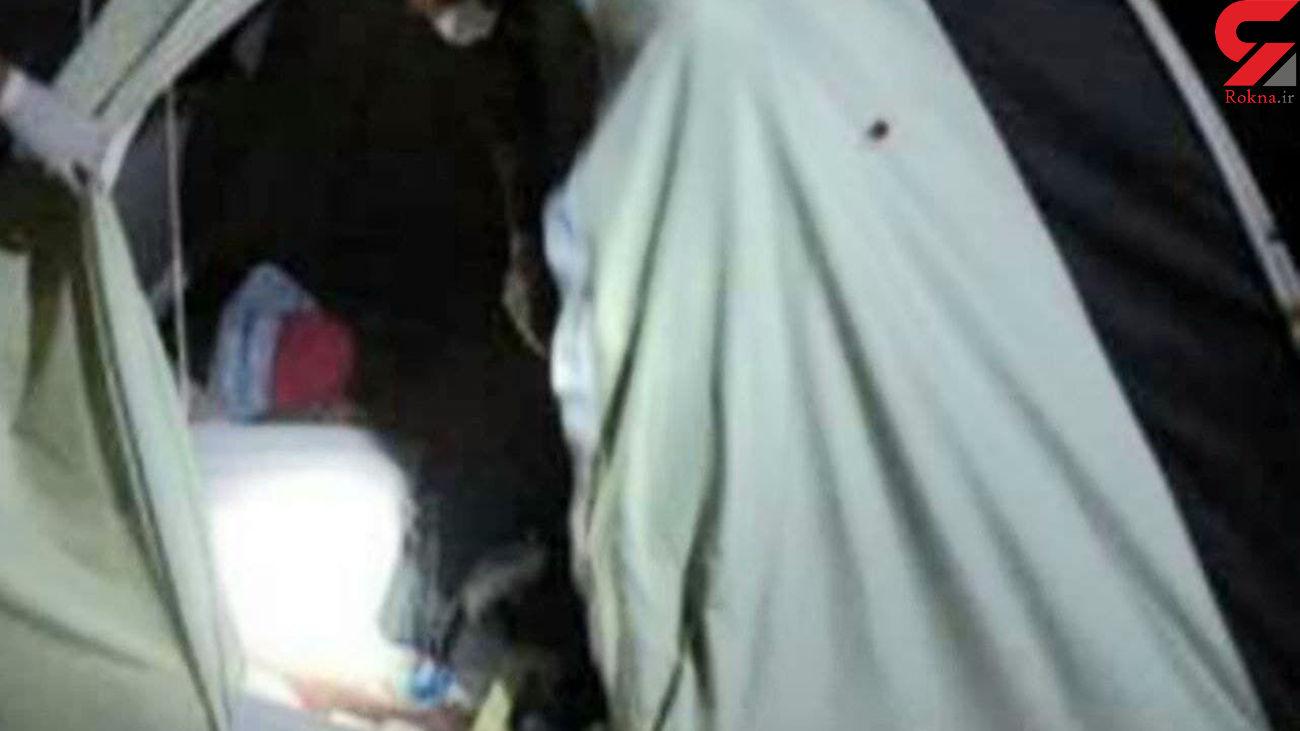 مرگ همزمان خانواده سمیرمی در چادر مسافرتی