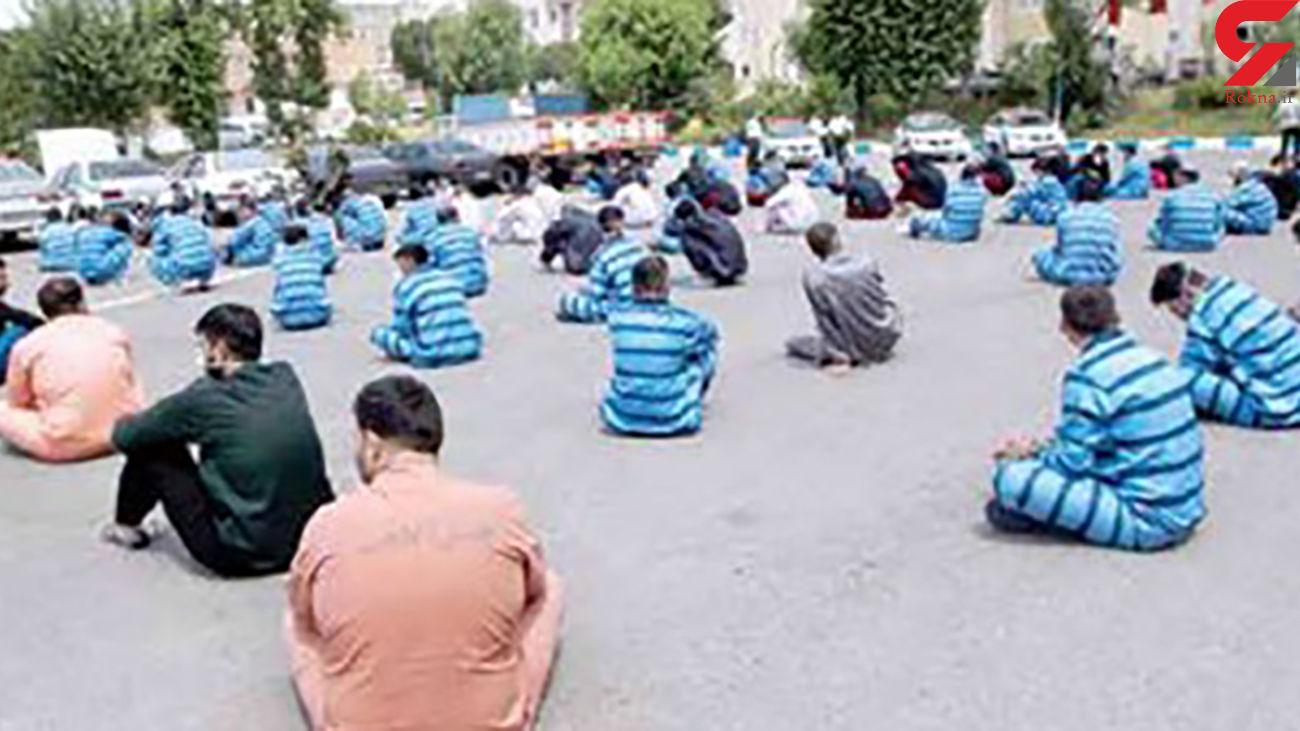 آزار زنان تهرانی با خودروهای لوکس تا سرقت کامیون در 20 ثانیه + عکس
