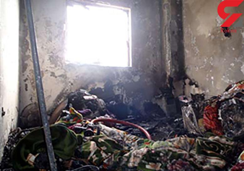 نجات ۶ نفر از آتشسوزی منزل مسکونی در طرقبه شاندیز