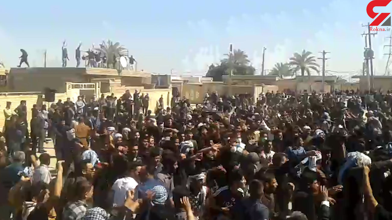 فیلم / تشییع جنازه کرونایی با حضور هراز شرکت کننده بدون ماسک در خرمشهر