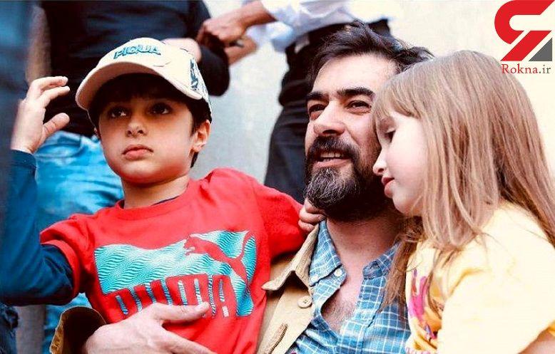 شهاب حسینی و پسرش همبازی شدند + عکس