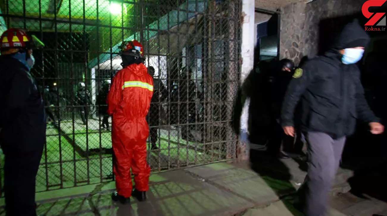 شورش در زندانی در گواتمالا / سر 6 نفر بریده شد و 1 نفر به قتل رسید