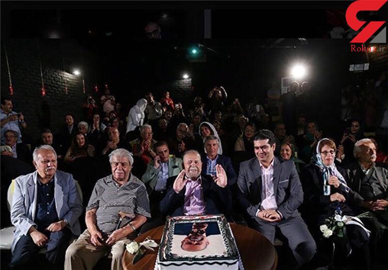 محمدعلی کشاورز 88 ساله شد + عکس