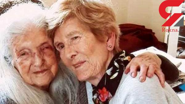 دختر پروشگاهی پس از 80 سال مادرش را پیدا کرد !+ عکس