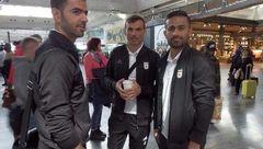 کاروان تیم ملی فوتبال ایران در تونس + عکس