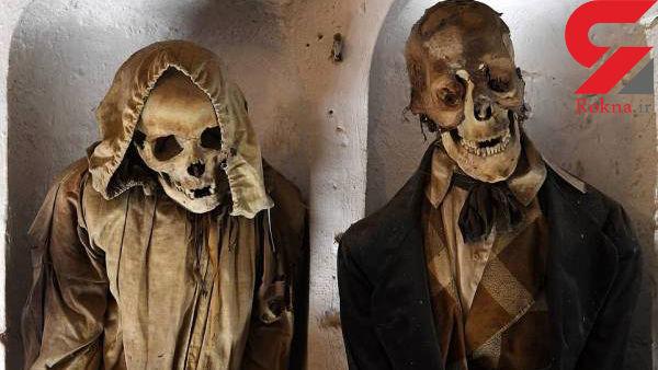 کشف 8000 جسد در یک موزه !+ عکس های باورنکردنی