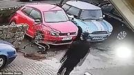 حادثه خنده دار مکانیک جوان را سوژه فضای مجازی کرد + فیلم