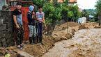 خسارت 900 واحد مسکونی و تجاری بر اثر سیل در لنگرود