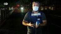 لحظه شلیک پلیس آمریکا به خبرنگار دویچه وله در آنتن زنده + فیلم