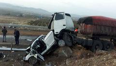حادثه رانندگی در اتوبان تبریز- زنجان ۷ کشته درپی داشت