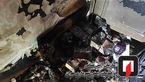 آتش سوزی هولناک خانه مسکمونی در نارمک + عکس ها