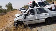 راننده پژو 3 نفر را به کشتن داد / تصادف مرگبار در محور نهبندان - بیرجند