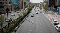 وضعیت ترافیک تهران پنج شنبه 31 تیرماه