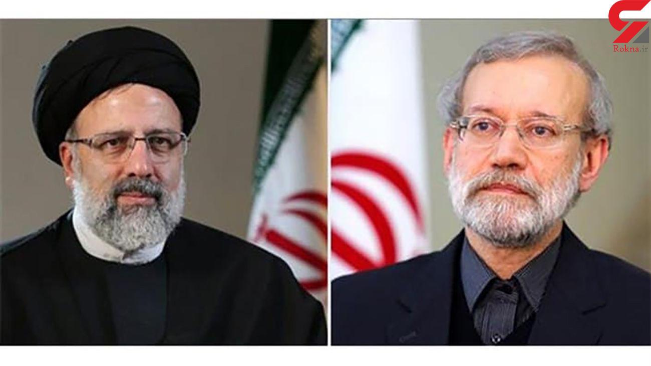لاریجانی در انتخابات ۱۴۰۰شرکت نمیکند/ رئیسی در حال رصد اوضاع است