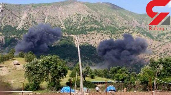 حمله هوایی ترکیه به مناطق مسکونی استان اربیل
