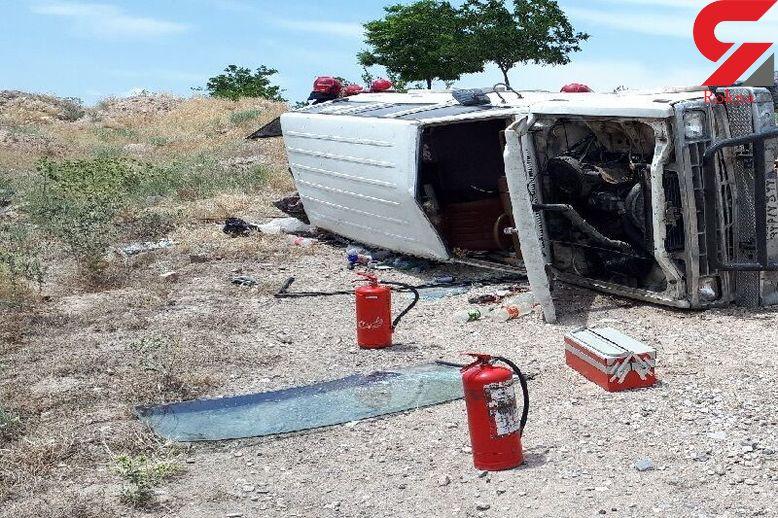 15 مصدوم در تصادفات جاده ای آرانوبیدگل