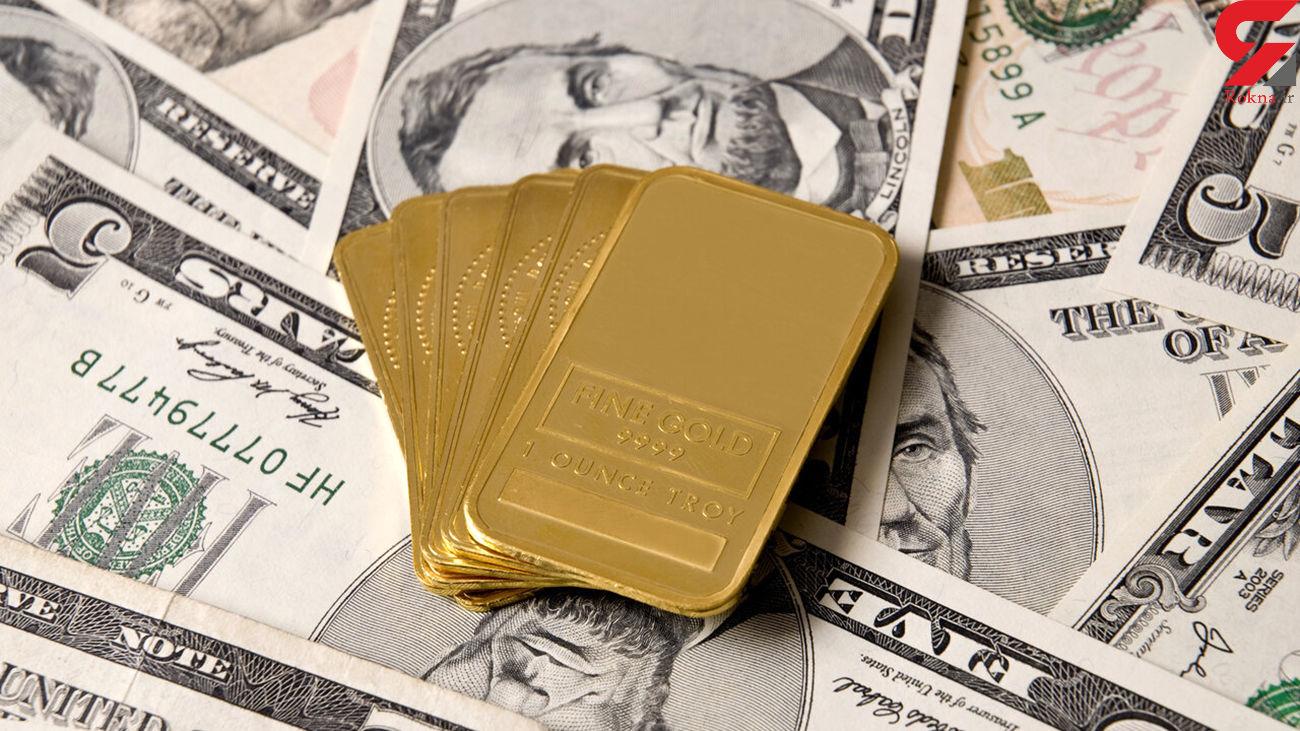 قیمت دلار ، سکه و طلای 18 عیار امروز دوشنبه 20 مرداد / قیمت سکه باز هم کاهش یافت