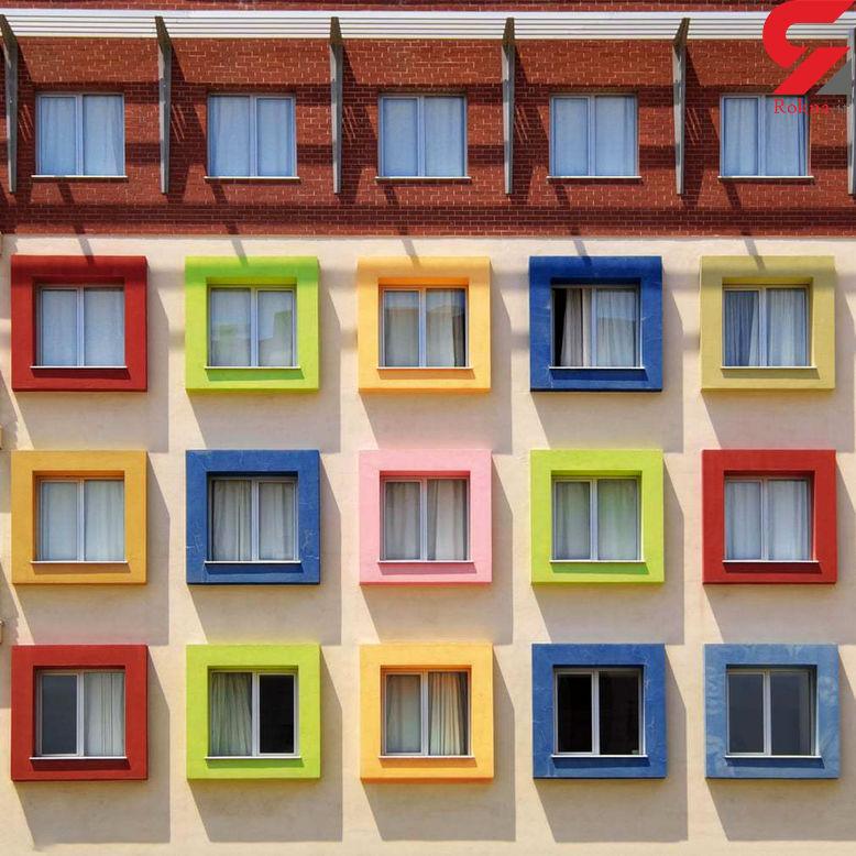 جولان رنگ ها در ساختمان های ترکیه + عکس