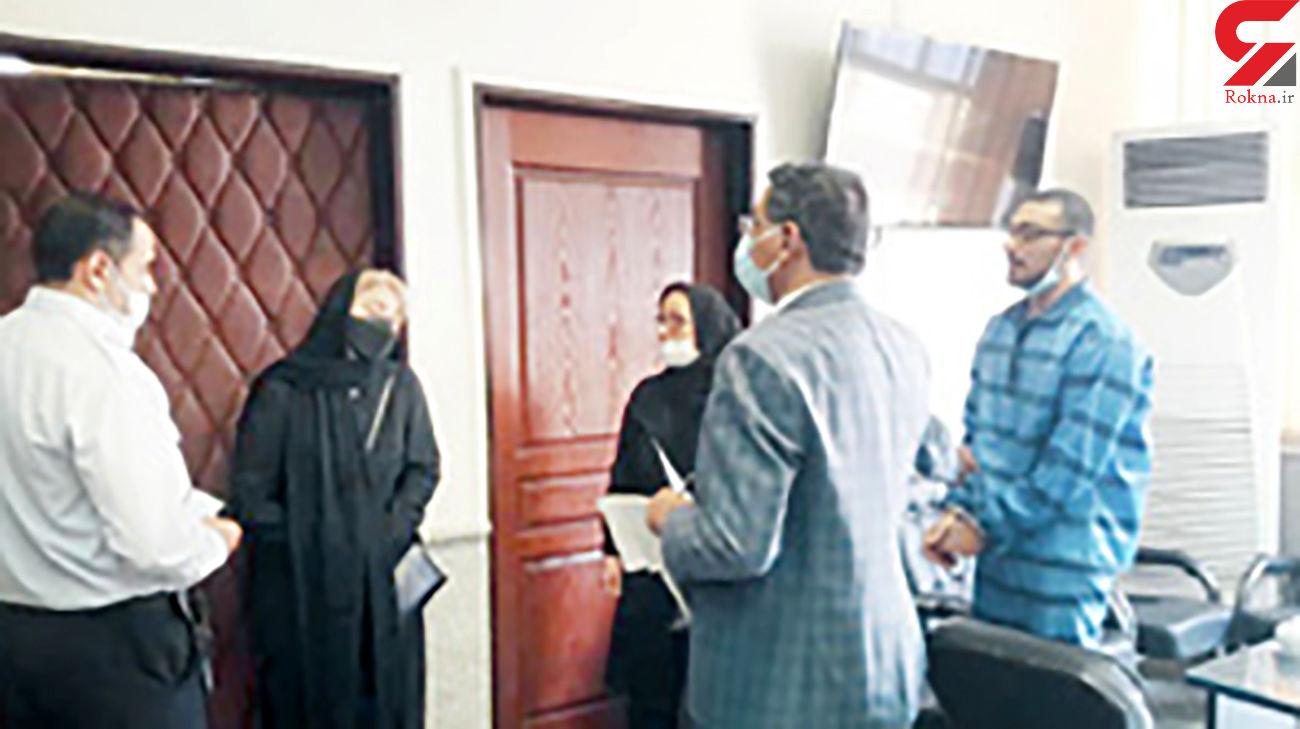 2 عکس تلخ از التماس های آرمان به مادر غزاله برای رهایی از اعدام