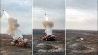 غرش موشک های بالستیک ایران ازعمق زمین تا آسمان خلیج فارس