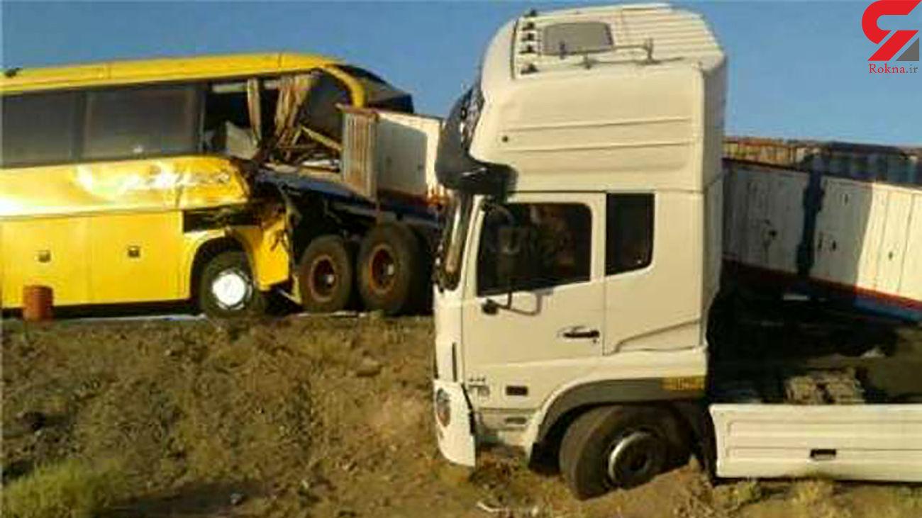 یک کشته در تصادف مرگبار در زنجان