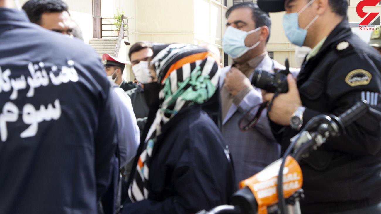 دزد بیمارستان های تهران یک زن بود / او از کرونا نمی ترسید + عکس