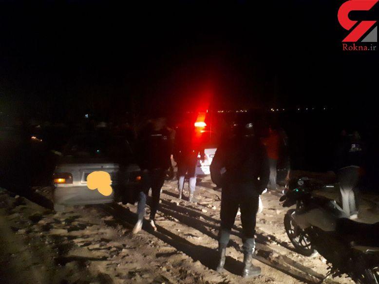 حادثه تلخ در آخرین ساعات 13 بدر / حمله اشرار به مردم در جاده باغرود + عکس