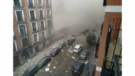 انفجار مشابه لبنان در مادرید اسپانیا + فیلم وعکس