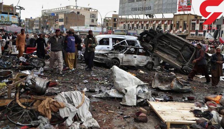 انفجار بمب در میدان تره بار+عکس