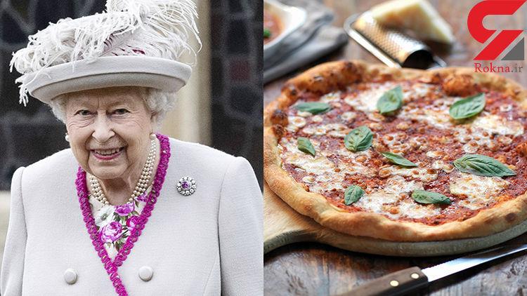 سفارش پیتزای ملکه انگلیس به دستش نرسید