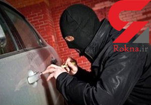 تیزهوشی بموقع صاحب خودرو دزد تک رو را به دام انداخت