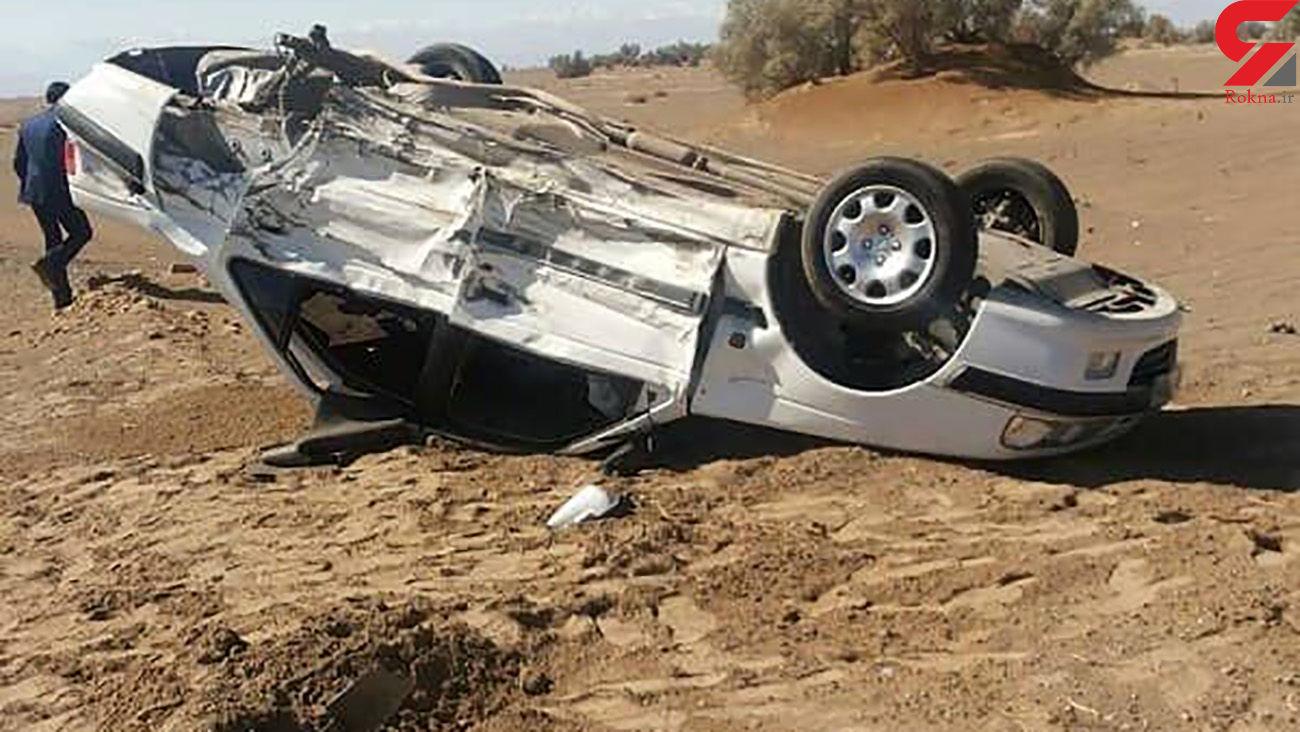 2 کشته و 3 مصدوم حاصل واژگونی پژو در شیراز