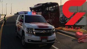 17 کشته در پی واژگونی اتوبوس+عکس