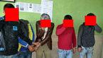 5 دزد لوازم خودرو در بهارستان دستگیر شدند +عکس